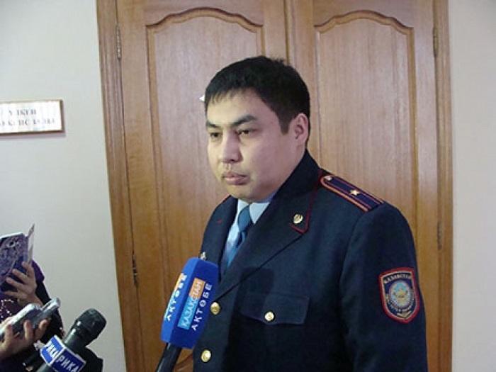 Максат Шляшев стал начальником МПС Актобе в январе 2016 года