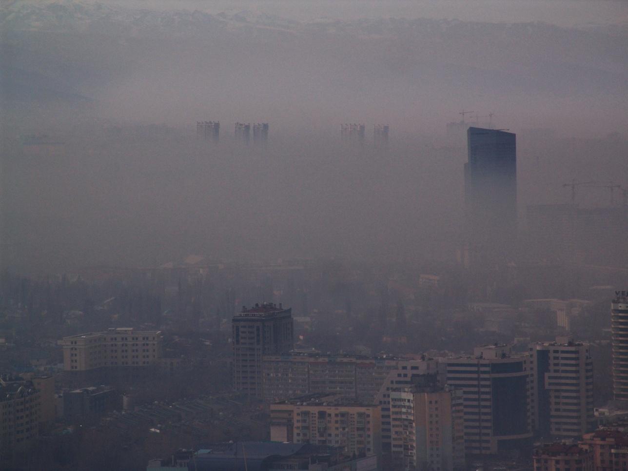 Экология Алматы