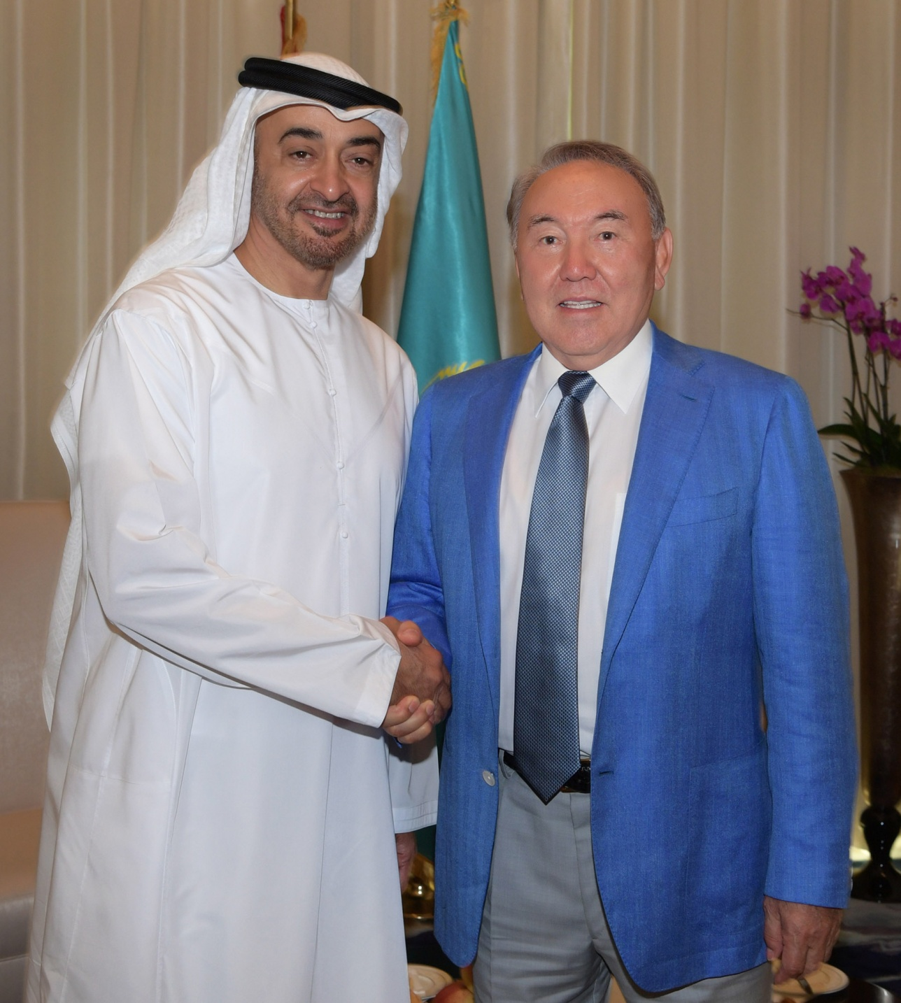 Встреча с Наследным принцем Абу Даби шейхом Мухаммедом бен Заид Аль Нахаяном