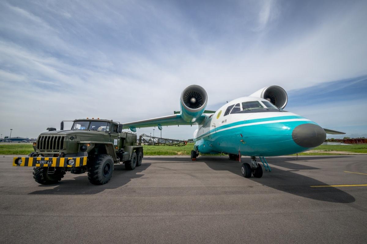Ан-72 советского производства все ещё стоят на вооружении