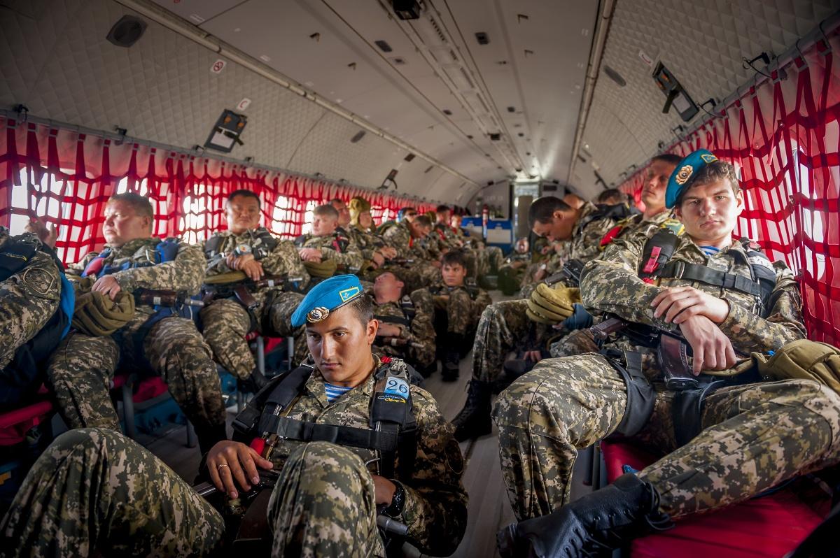 Десантники на борту С-295
