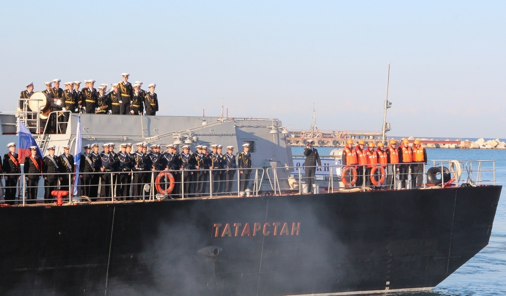 """""""Татарстан"""" является наиболее современной и мощной единицей составе флотилии."""