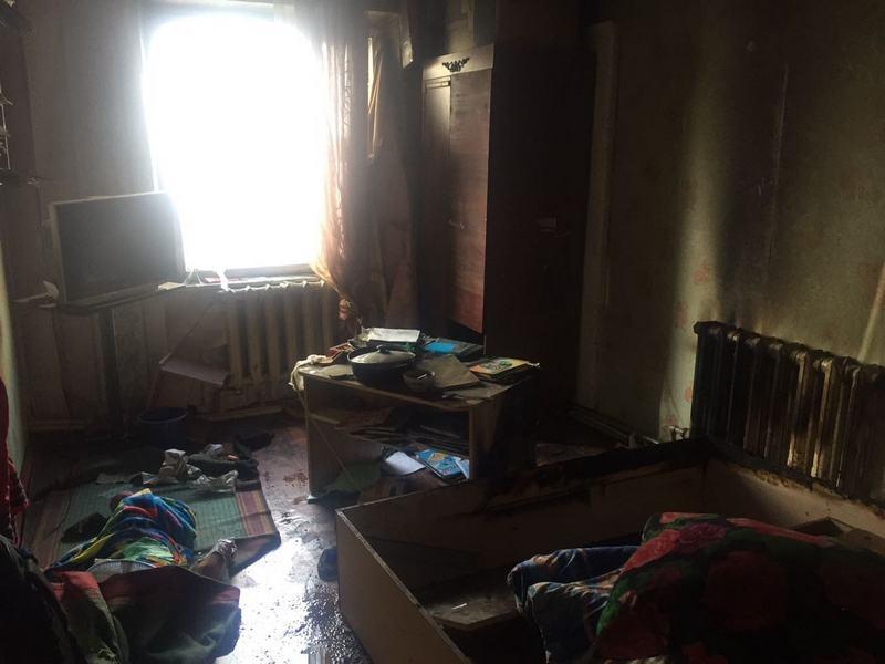 Площадь пожара была небольшой, но дети погибли из-за угарного газа
