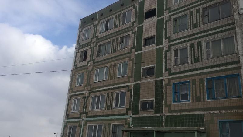 Пожар произошёл в пятиэтажке в районе Сарыарка