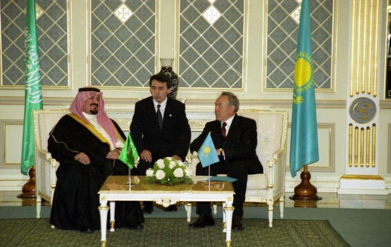 Встреча с султаном аль-Саудом в 2000 году