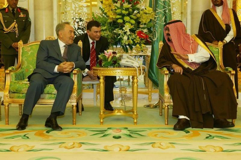 Встреча с Абдалла бен Абдель Азизом в 2004 году