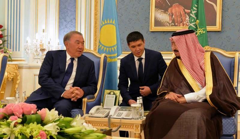 Встреча с королём Саудовской Аравии Салманом бен Абдель Азизом Аль Саудом