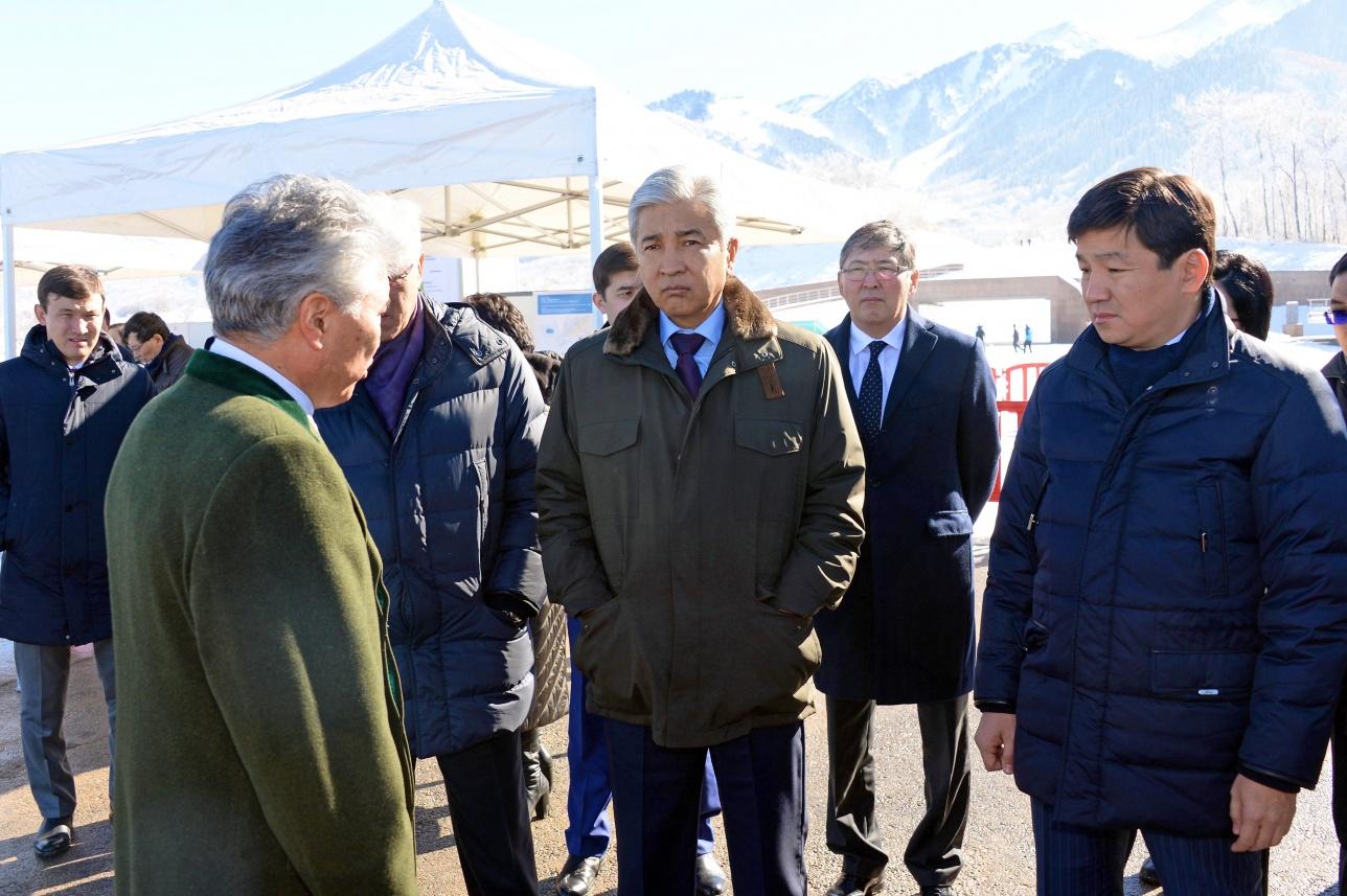 Имангали Тасмагамбетов провёл в Талгаре выездное совещание