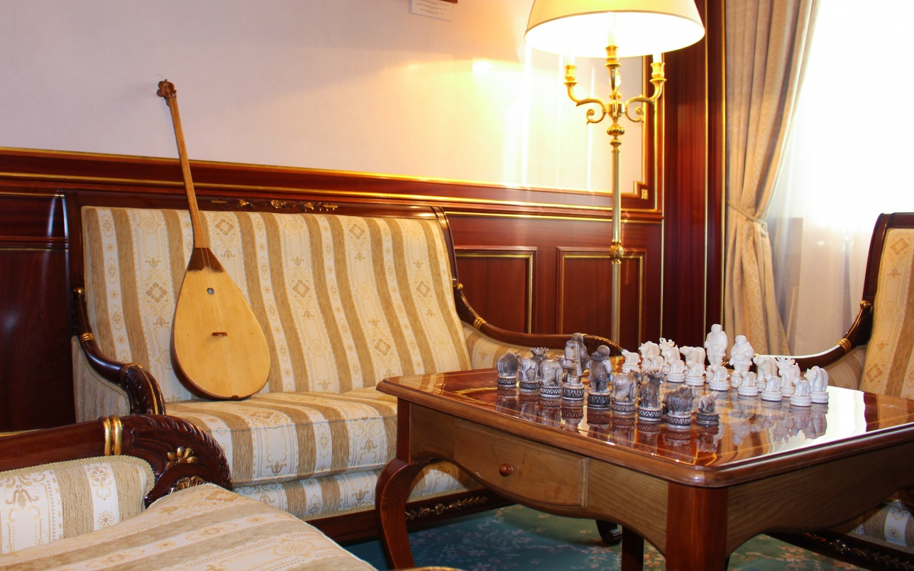 Комната отдыха Нурсулана Назарбаева