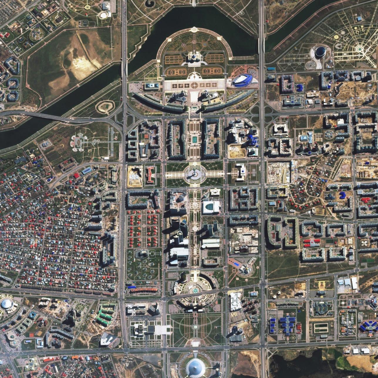 Астана, левый берег