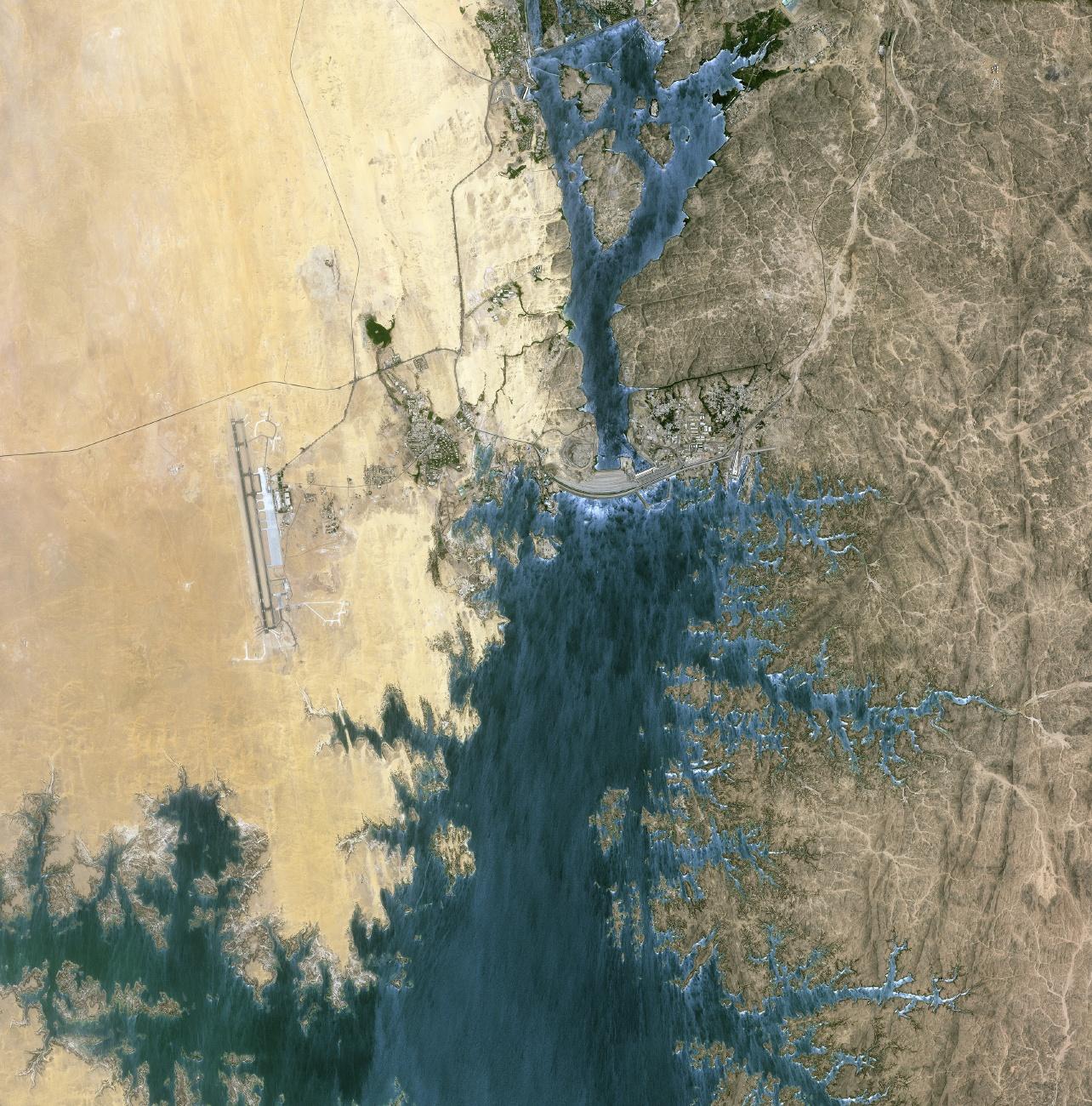 Египет. Асуанская плотина