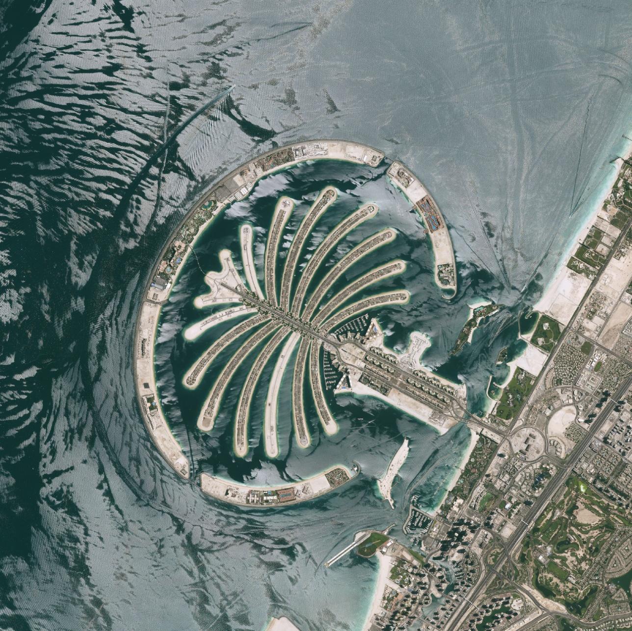 Дубай, искусственные острова