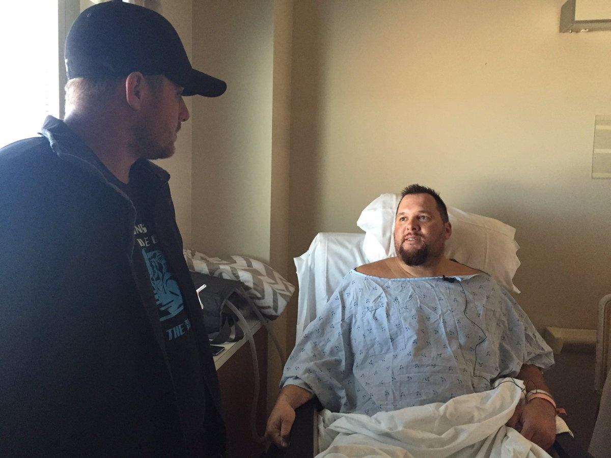 Кевин Дипенброк сломал 12 рёбер, но остался жив