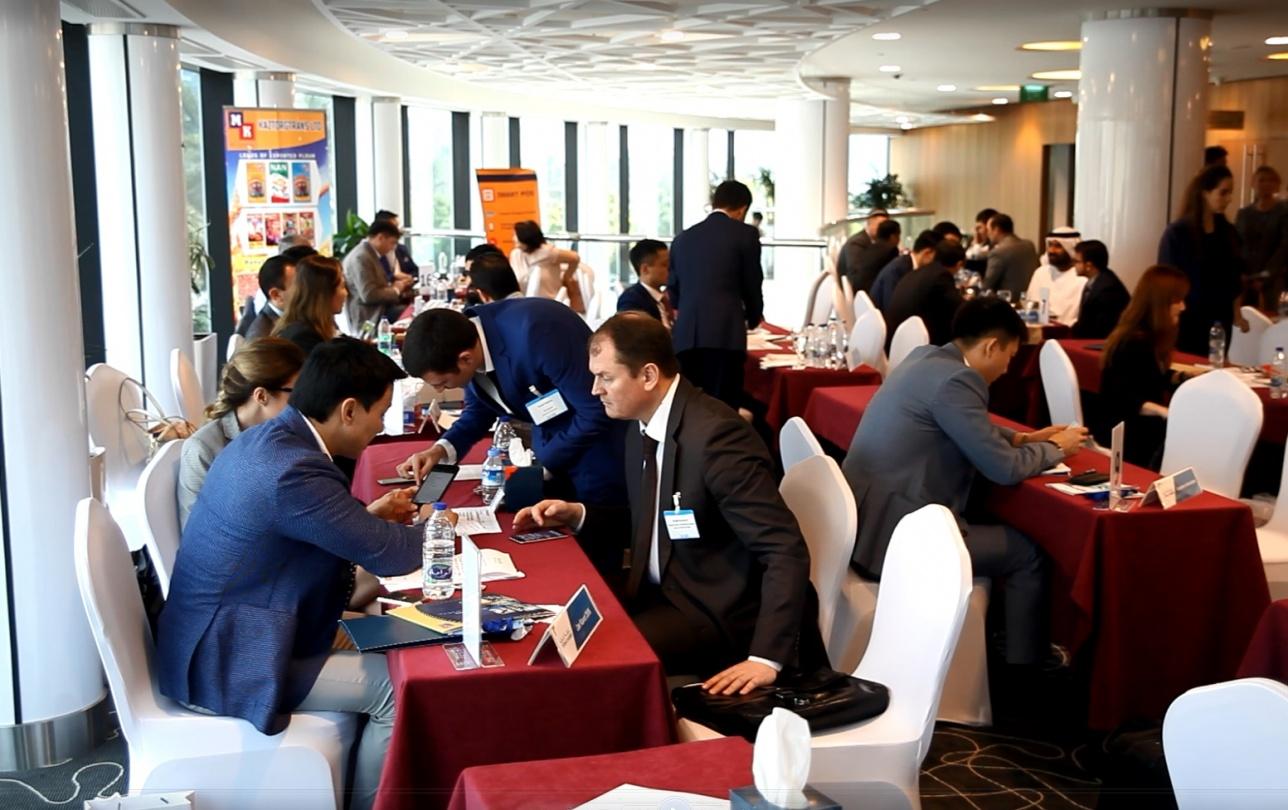 В2В встреча казахстанских бизнесменов с арабами