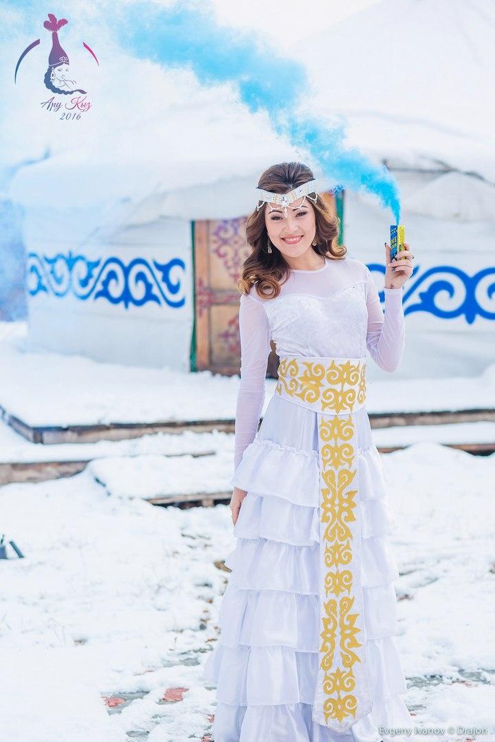 Алтына Хусаинова признана самой красивой казашкой