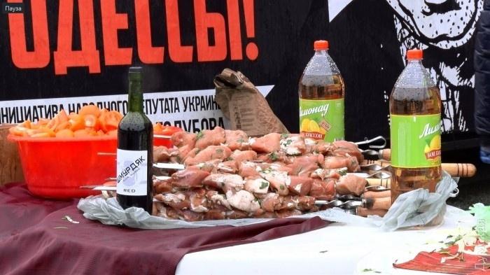 Проводы Саакашвили устроили оппоненты губернатора