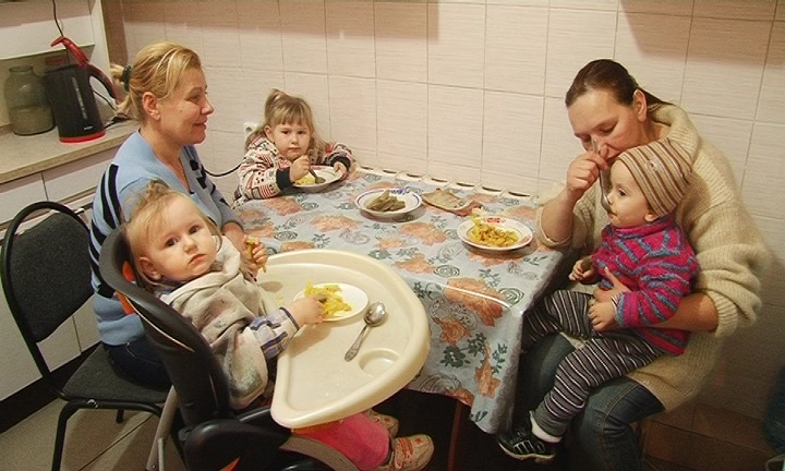 Женщины с детьми, оказавшиеся в трудной жизненной ситуации