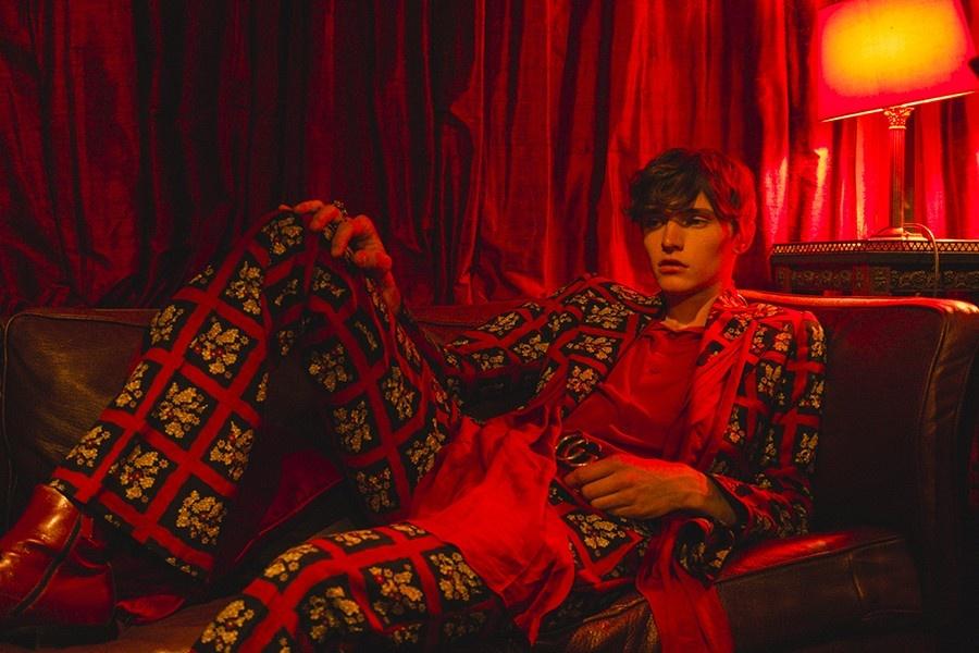 Карагандинец снялся в рекламе Gucci