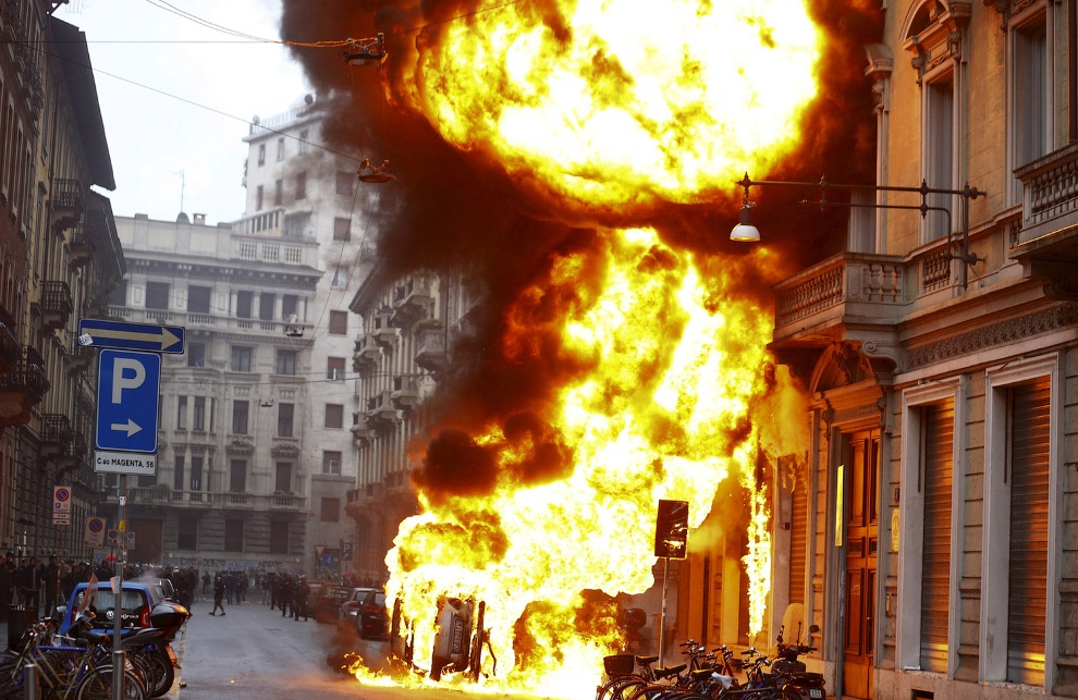 Беспорядки в связи с проведением ЭКСПО в Милане в 2015 году