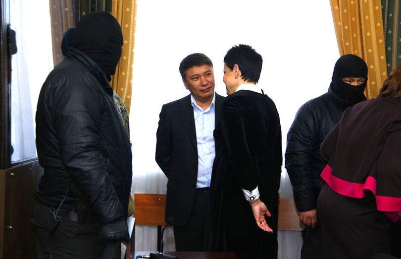 Талгат Ермегияев в суде