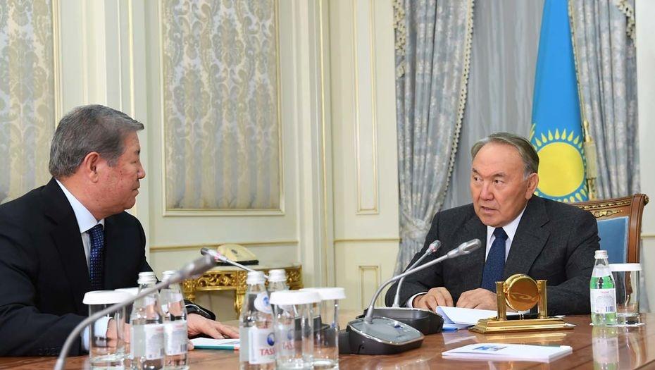 Президент Казахстана принял Ахметжана Есимова в Акорде