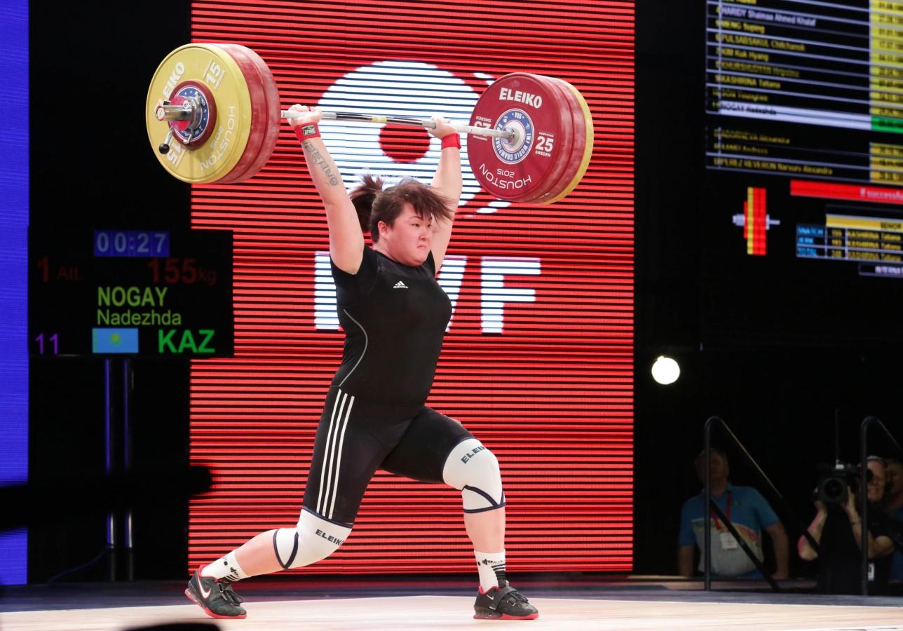 На своём дебютном чемпионате мира среди взрослых Надежда Ногай заняла пятое место