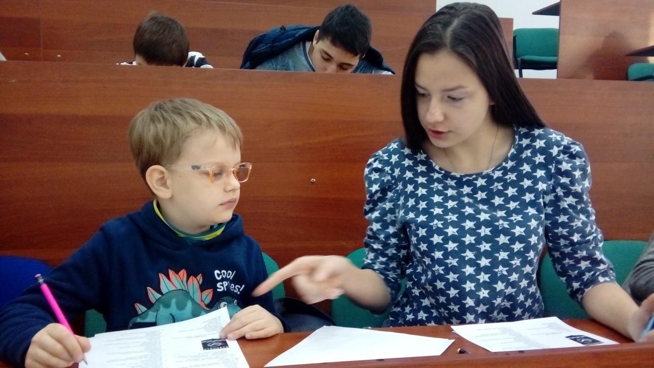 7-летний Елисей Реснянски стал одним из самых молодых участников тестирования