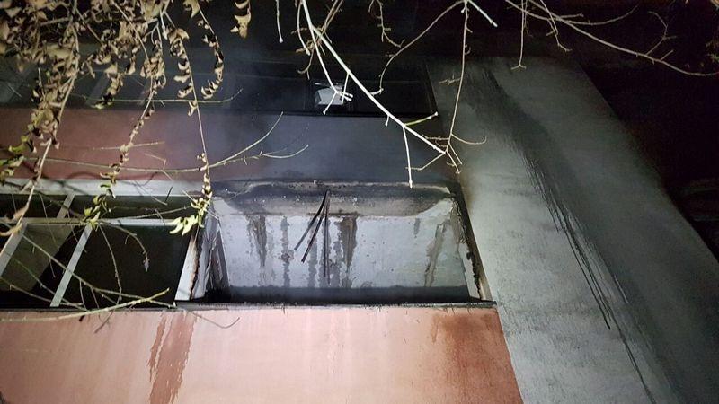 Площадь пожара составила 180 кв.м.