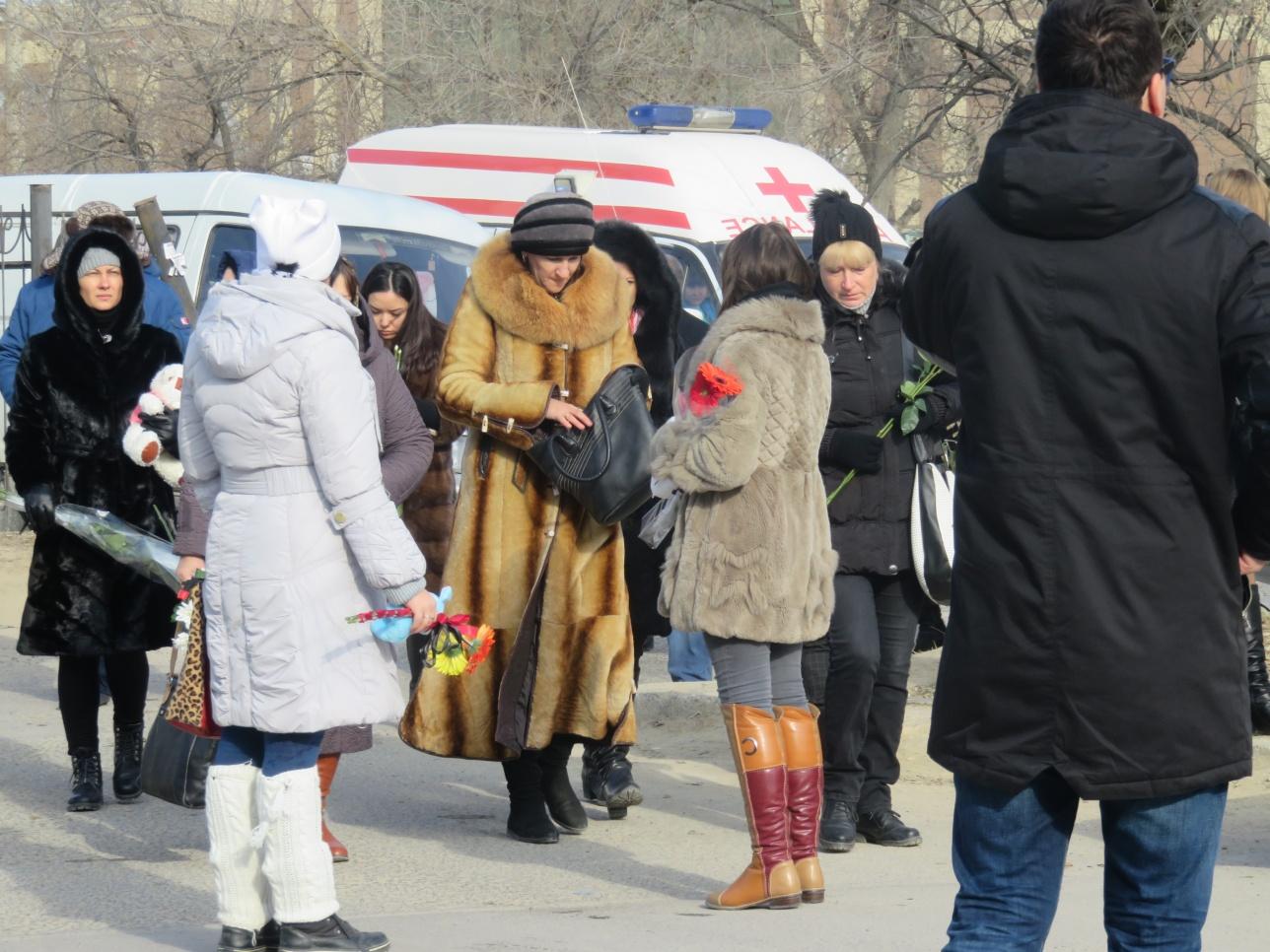 Актау прощается с Викторией Мининой