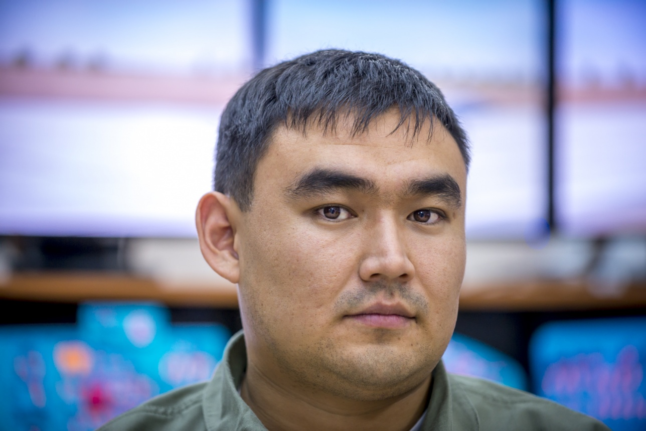 Капитан Амангельды Шагапов, командир экипажа МиГ-31