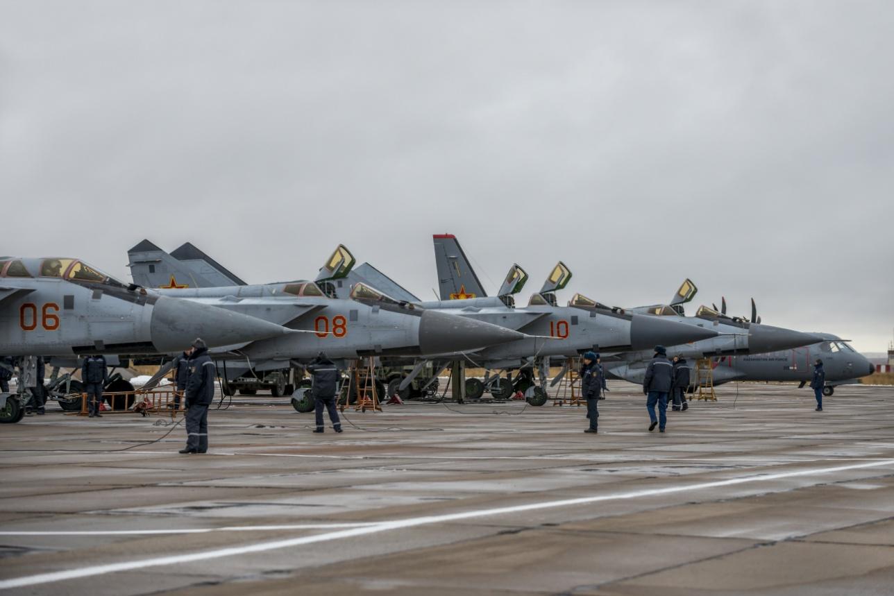 Начало учебных полётов МиГ-31