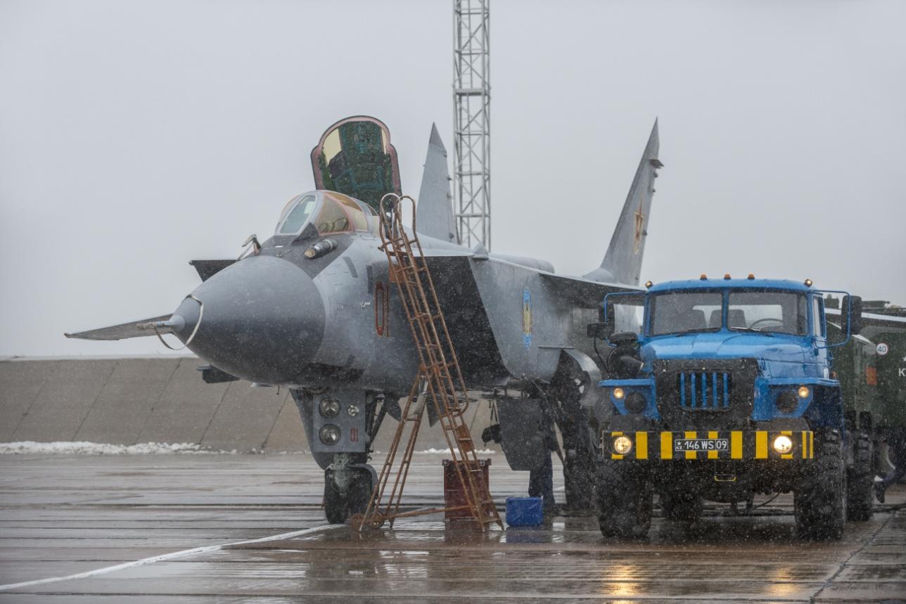 За минуты до вылета МиГ-31