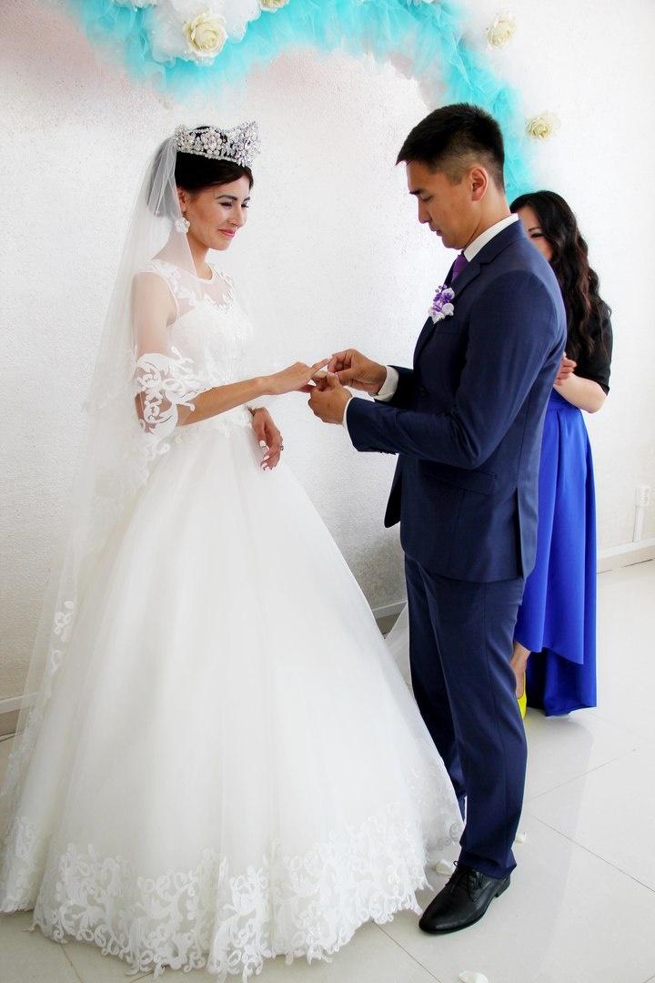 Свадьба полицейских Саяна и Алии Жумабаевых