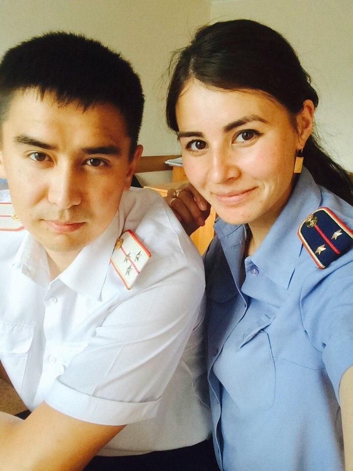 Саян и Алия Жумабаевы