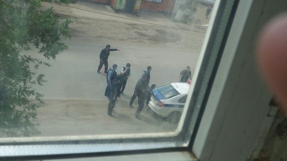 Антитеррористическая операция в Актобе