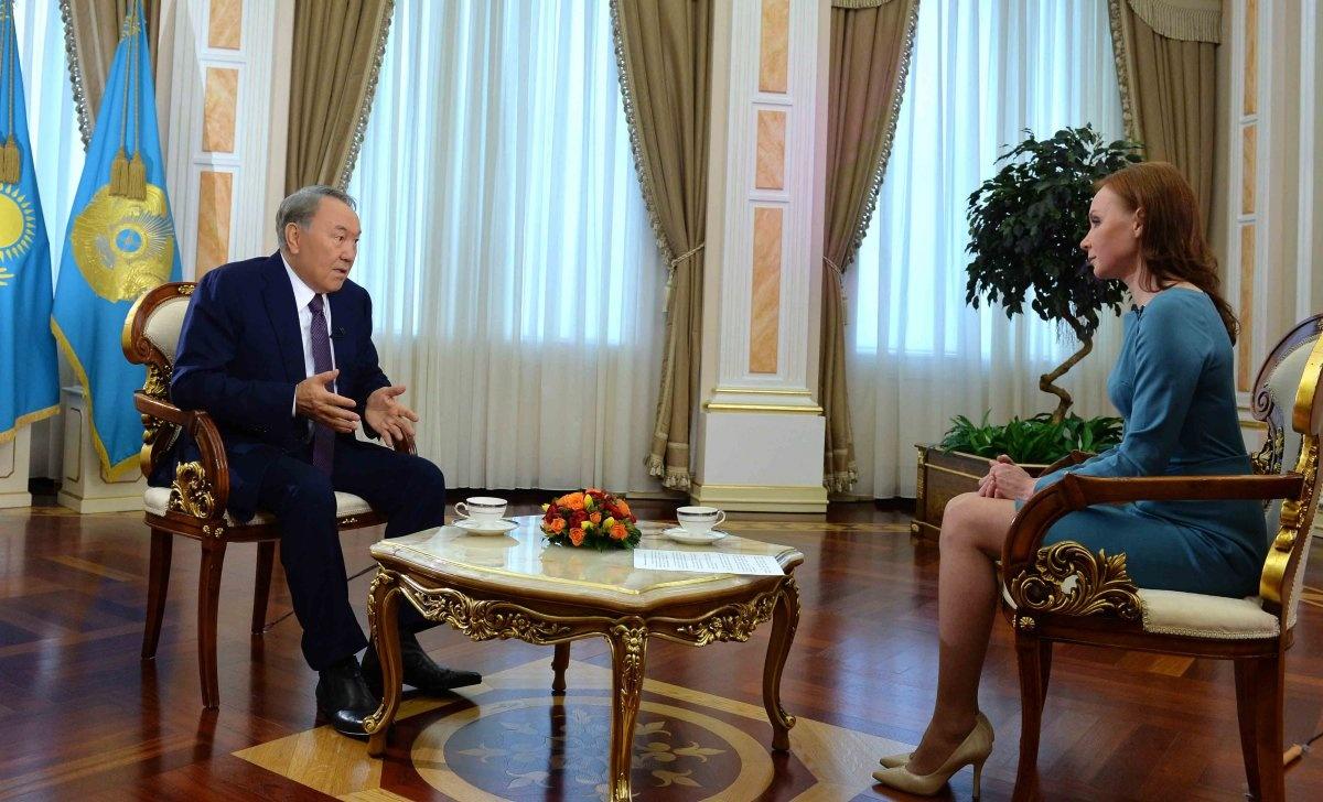 Нурсултан Назарбаев поблагодарил россиян за их хорошее отношение к нему и Казахстану
