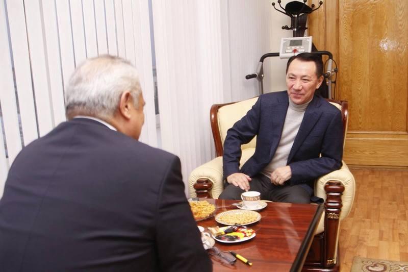 Следующая встреча состоится на заводе у Мейрамхата Айнабекова