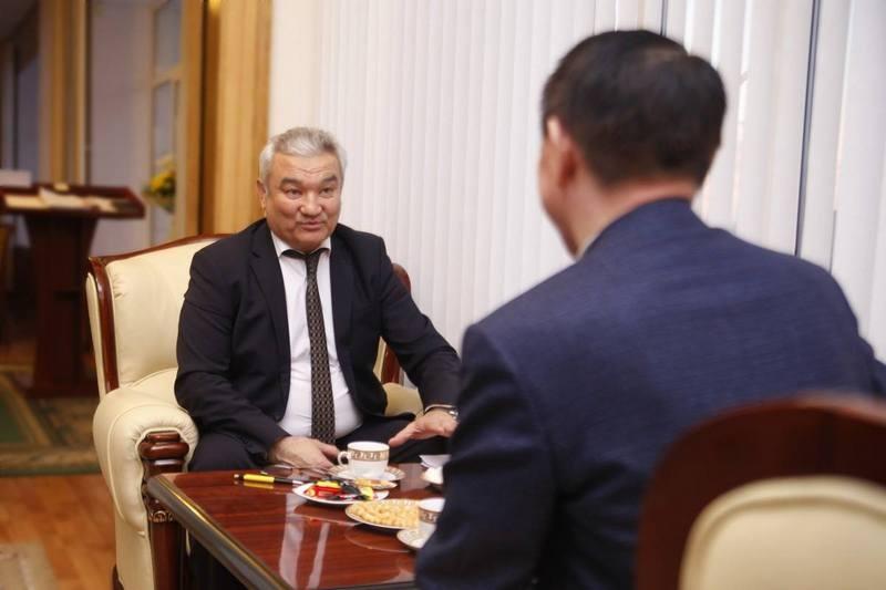 Ермак Салимов признался в уважении к своему предшественнику
