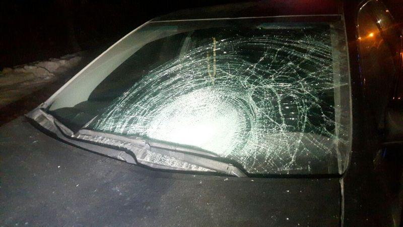 Водитель Toyota Camry не заметил пешехода и не успел затормозить