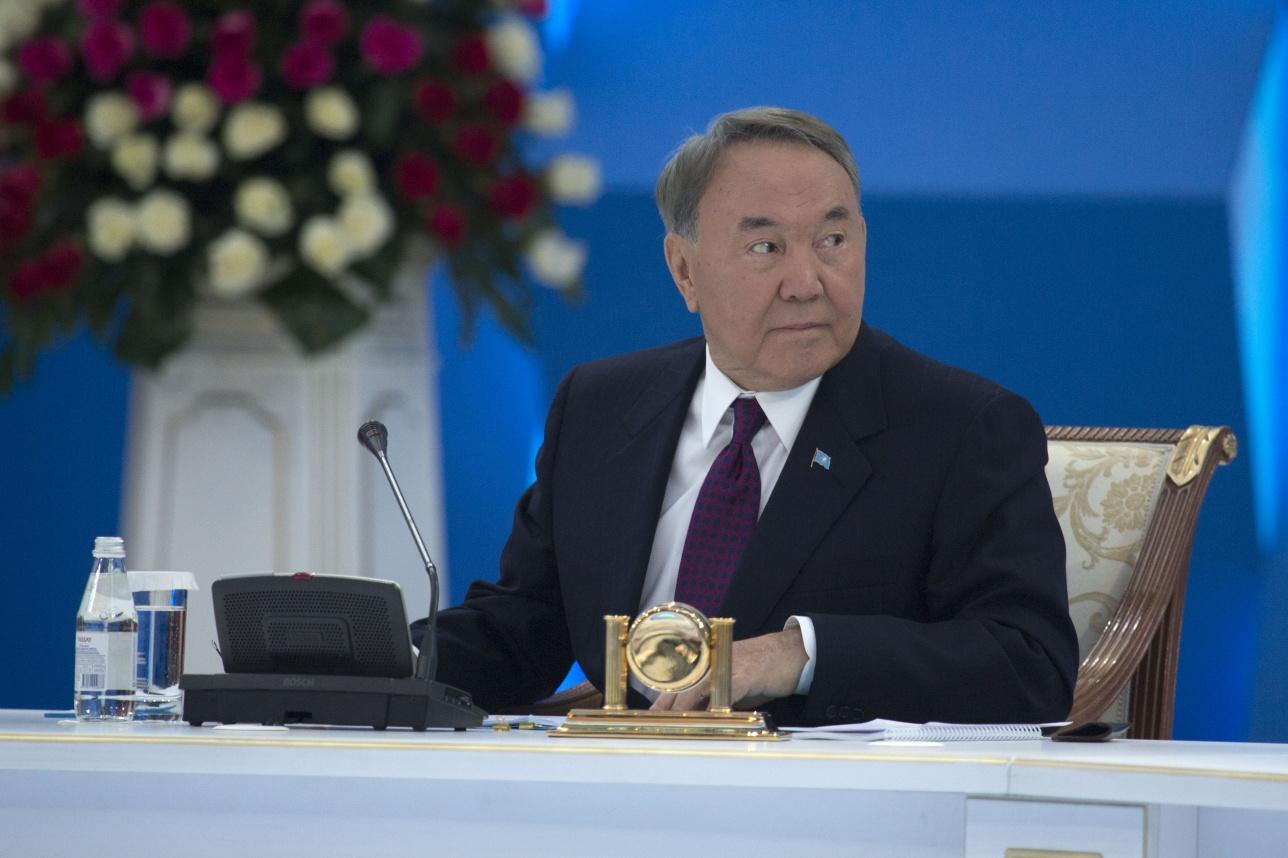 Нурсултан Назарбаев на форуме молодёжи