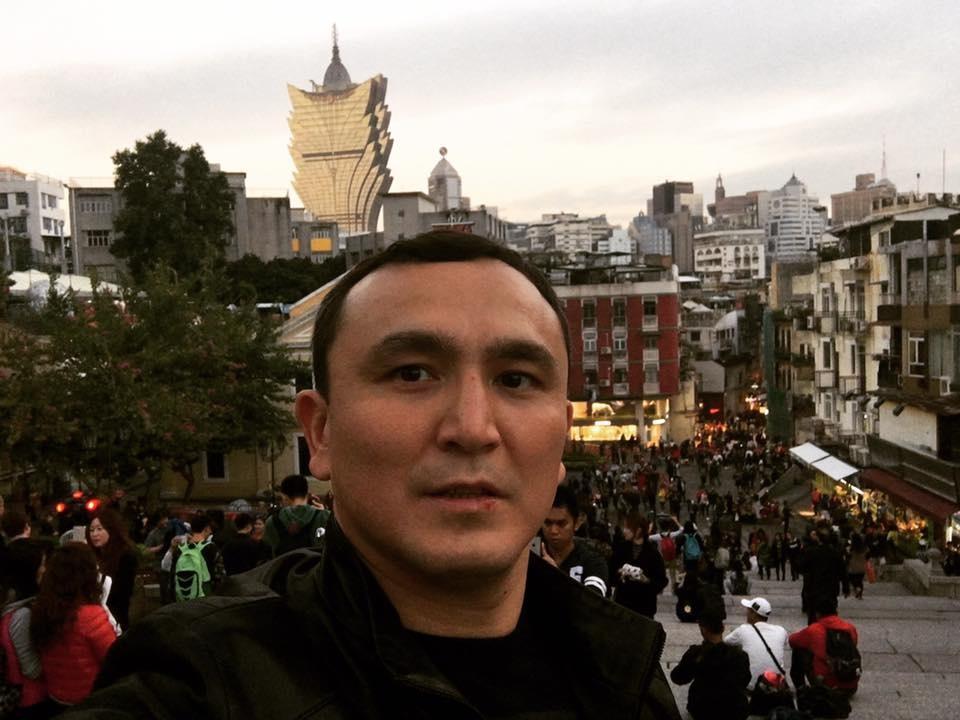 Айдар Махметов в Макао