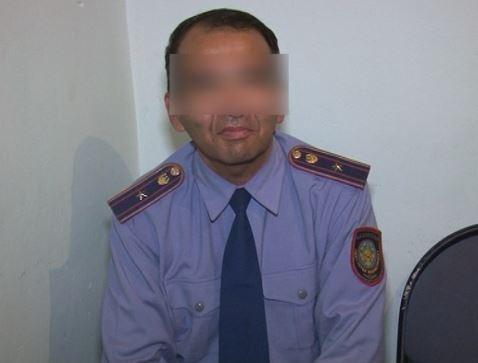Майора-соблазнителя задержали в Шымкенте