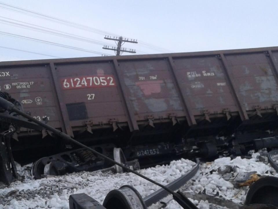 В результате ЧП было парализовано движение других поездов