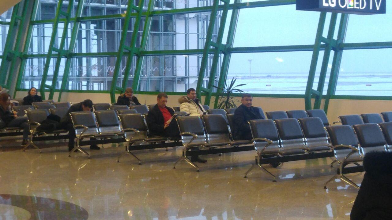 В ожидании вылета