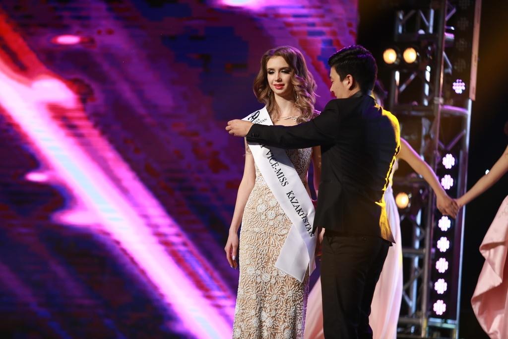 Анастасия Усольцева стала третьей вице-мисс