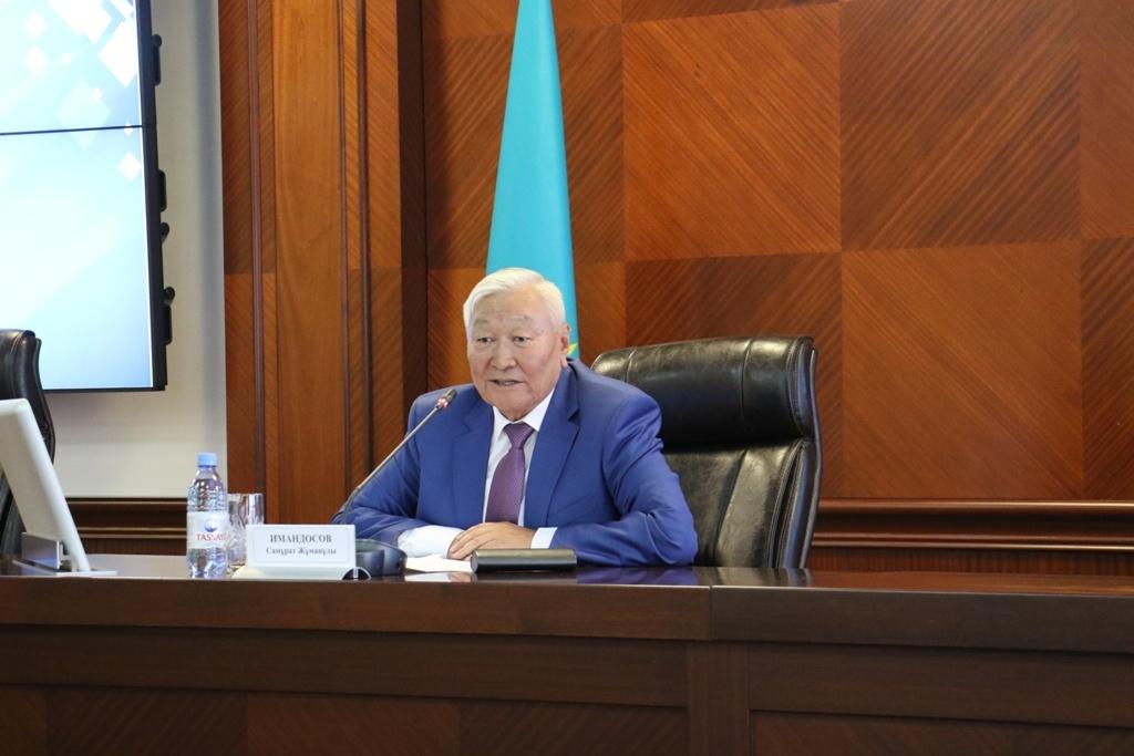 """Самурат Имандосов предложил назвать микрорайон """"Нур орда"""""""