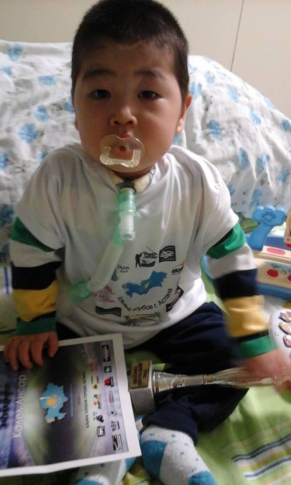 Ансар радуется жизни, как обычный ребёнок, несмотря на тяжёлую болезнь