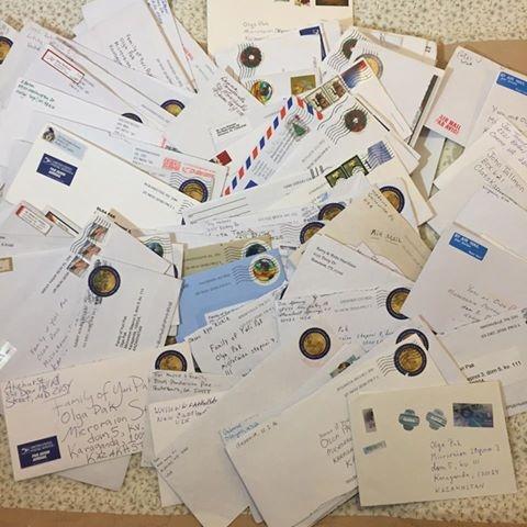 Письма Юрию Паку присылают со всего мира