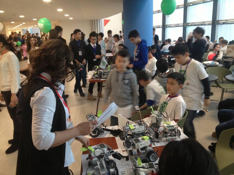 В Астане дети увлечены технологиями будущего