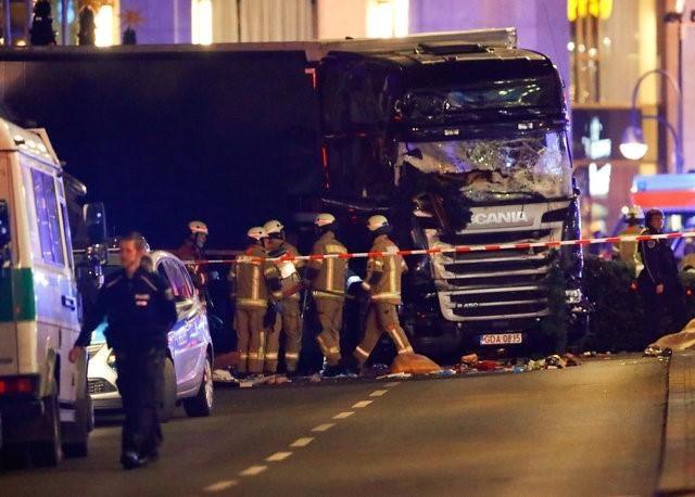 В грузовике обнаружено тело погибшего человека